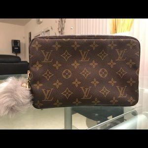 Auth Louis Vuitton TROUSSE TOILETTE 23 vintage